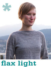 Flax Light by Tin Can Knits
