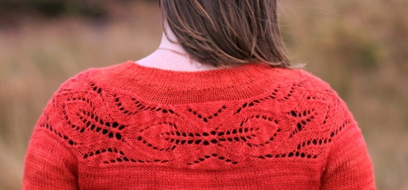 My favourite design from Handmade in the UK, this is the Lush Cardigan