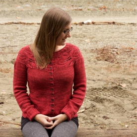 Lush Cardigan by Tin Can Knits