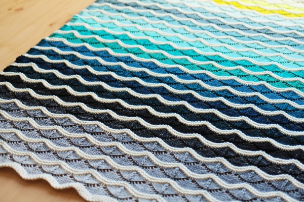Bounce Blanket by Tin Can Knits