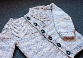 Antler Cardigan by Tin Can Knits