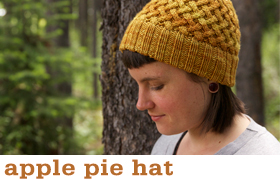 Apple Pie Hat by Tin Can Knits