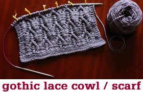 Gothic Lace by Tin Can Knits