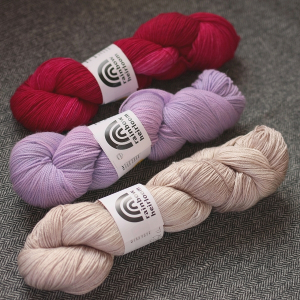 Participate in our KAL for a chance to win one of these lovely skeins!