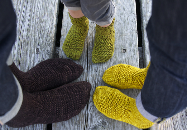 Rye Socks by Tin Can Knits