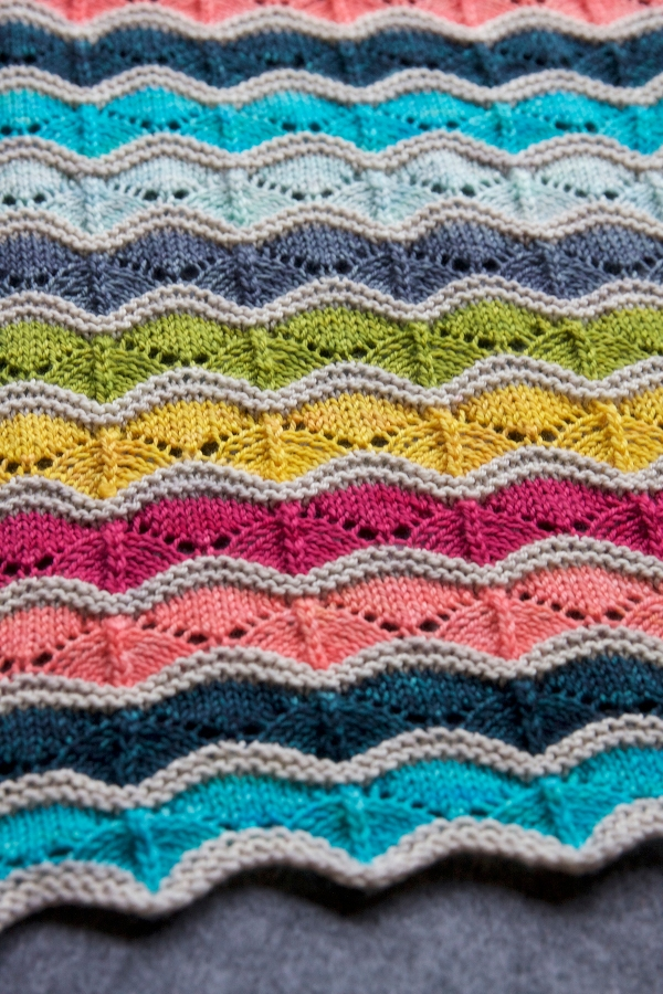 Knitting In Art : A palette for baby tin can knits