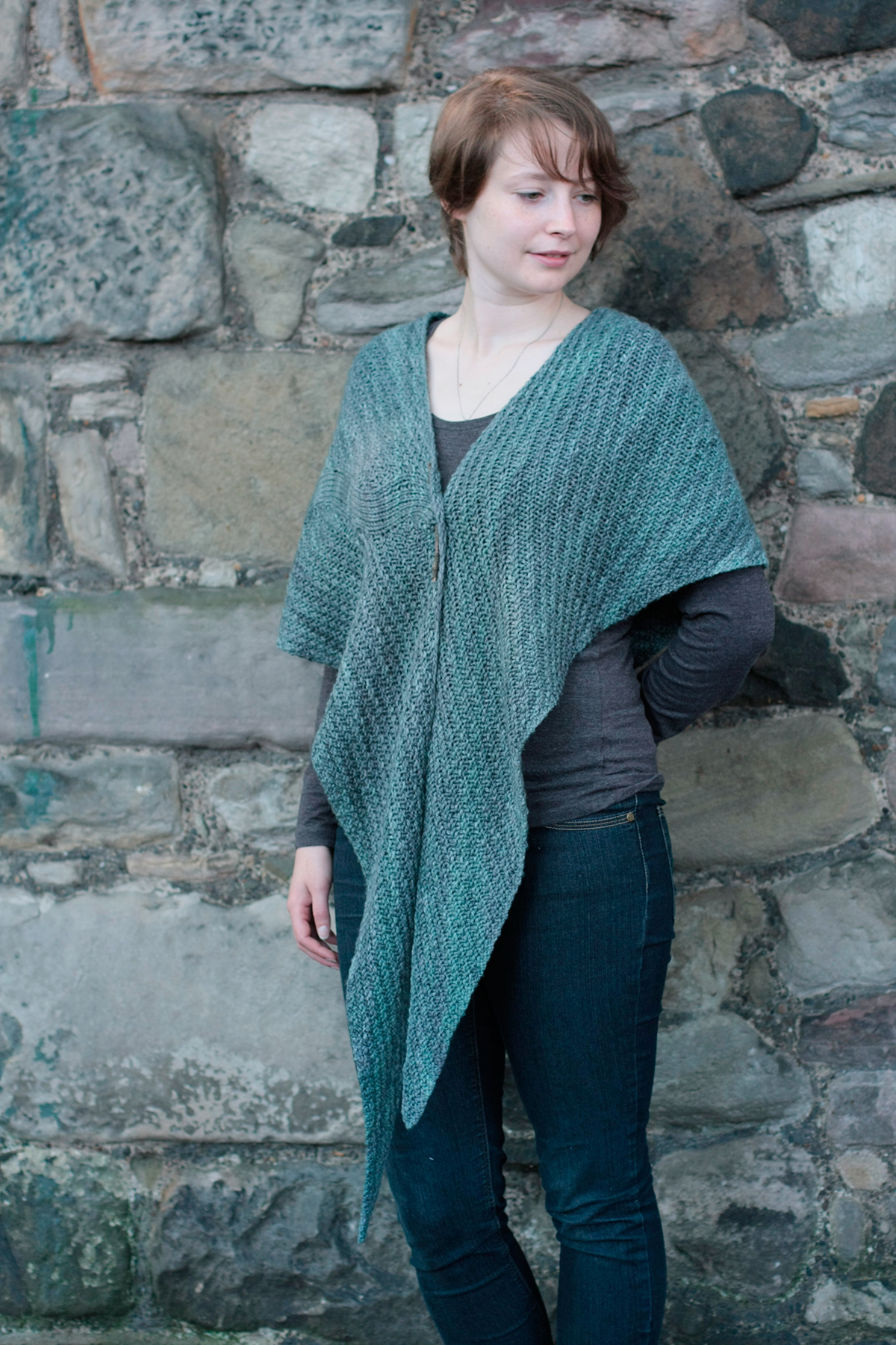 How To Wear A Shawl Tin Can Knits