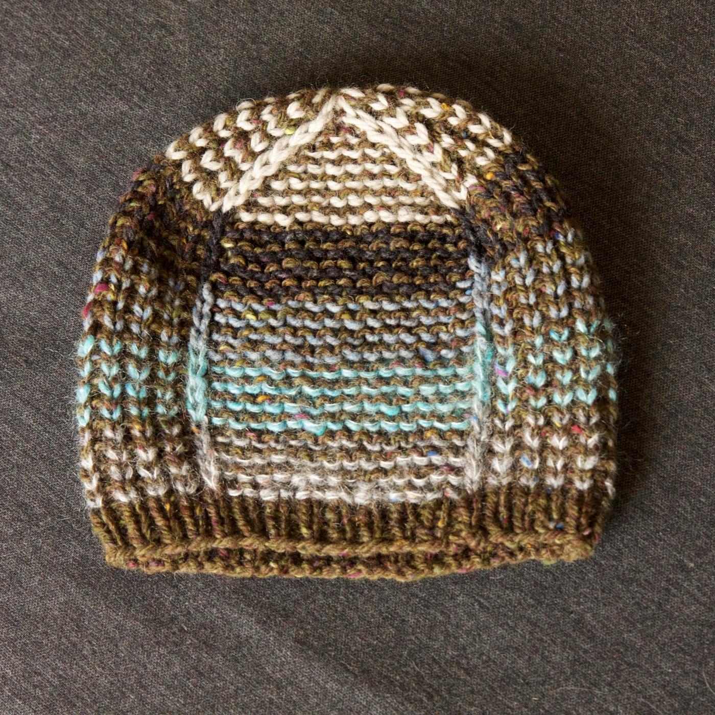 2d7ea59795e Aran Weight Bumble Beanie – a pattern hack