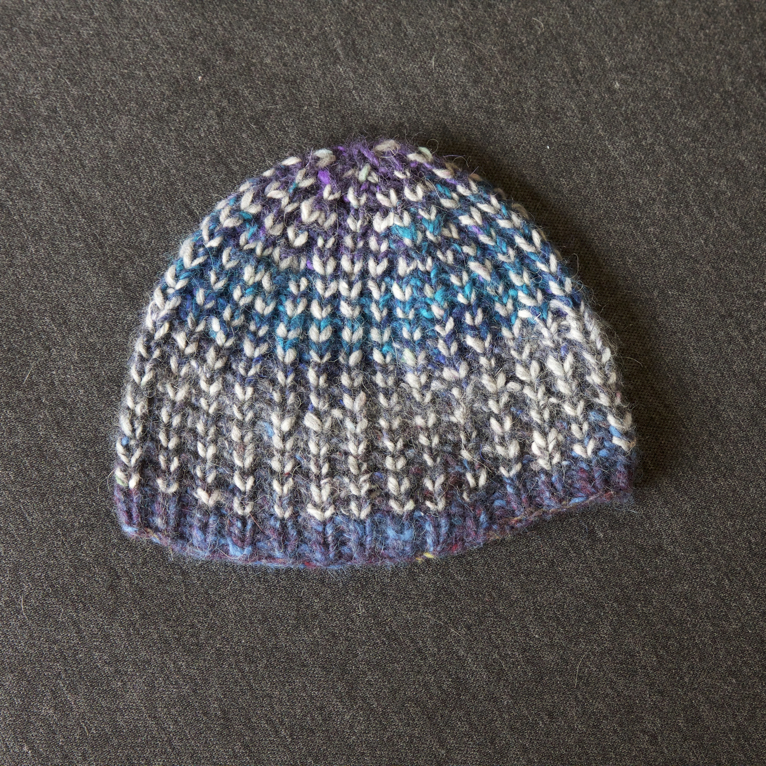 Aran Weight Bumble Beanie – a pattern hack | Tin Can Knits