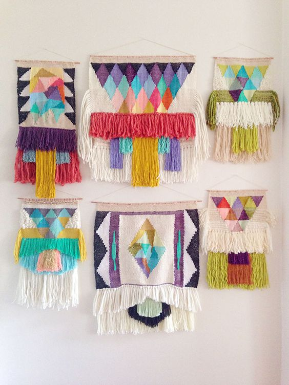 Maryann Moodie's beautiful weavings