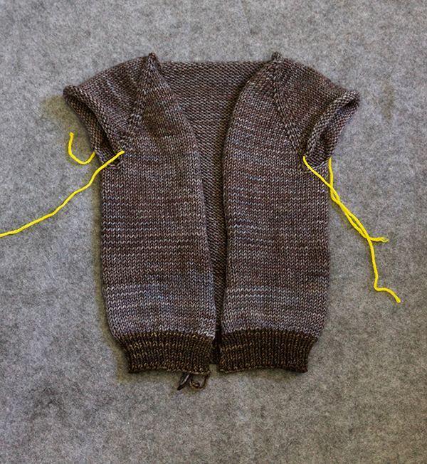 1dc2dc3c305c Sweater Techniques Series – Gramps Baby Cardigan – 4   6   Top-Down ...