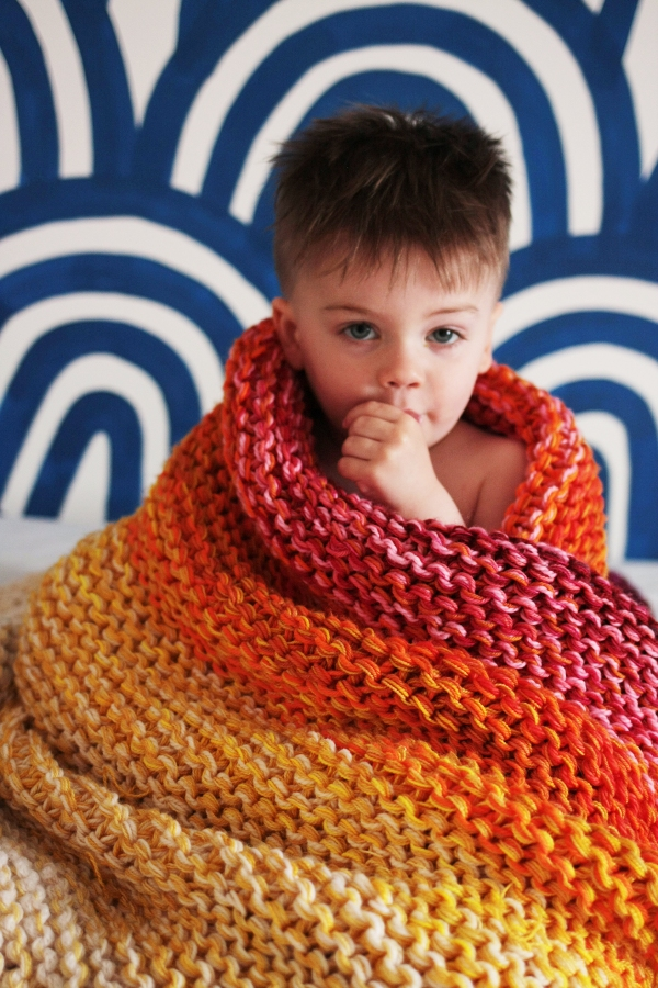 Marley Blanket by Tin Can Knits