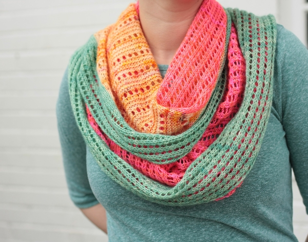 Hedgehog Fibers Skinny Singles in 'monarch', Rainbow Heirloom Solo Light in 'Killer Flamingo'