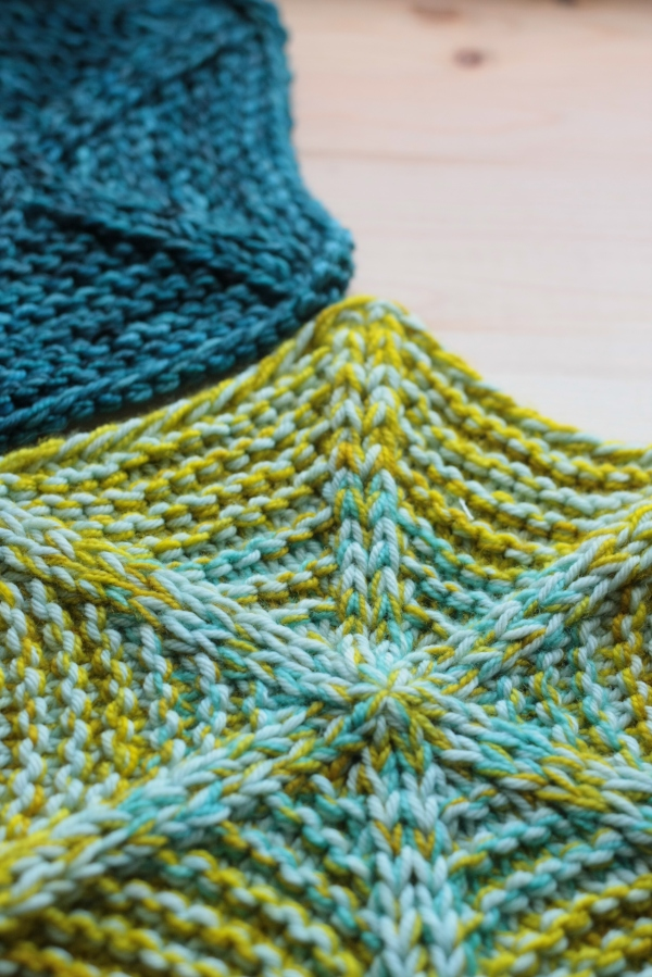 Polygon Blanket by Tin Can Knits