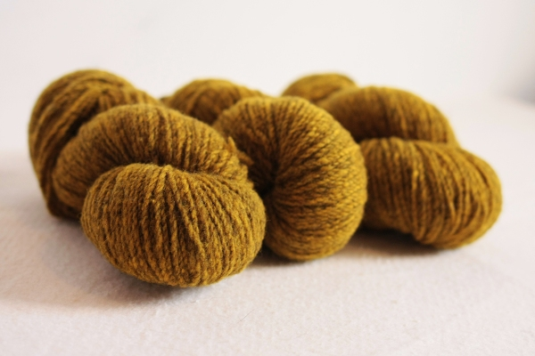 Thinking a bit more about the yarns we use is part of our Year of Thoughtful Knitting