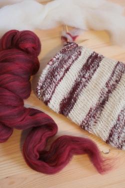 handspun stocking