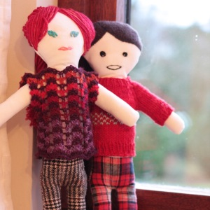 Finished Xmas Dolls