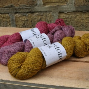 A sweater amount of Dovestone DK donated by Baa Ram Ewe