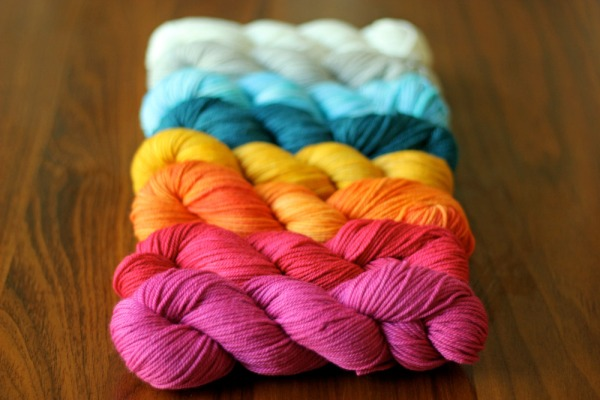 Tanis of Tanis Fiber Arts (and the designer of Crazyheart) has donated one of their beautiful palettes!