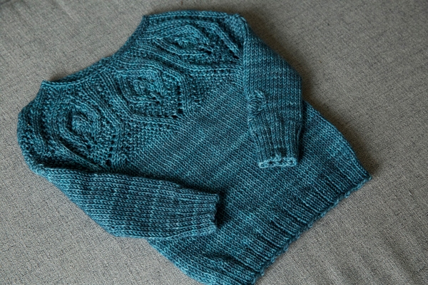 Let\'s knit a bottom up sweater | Tin Can Knits