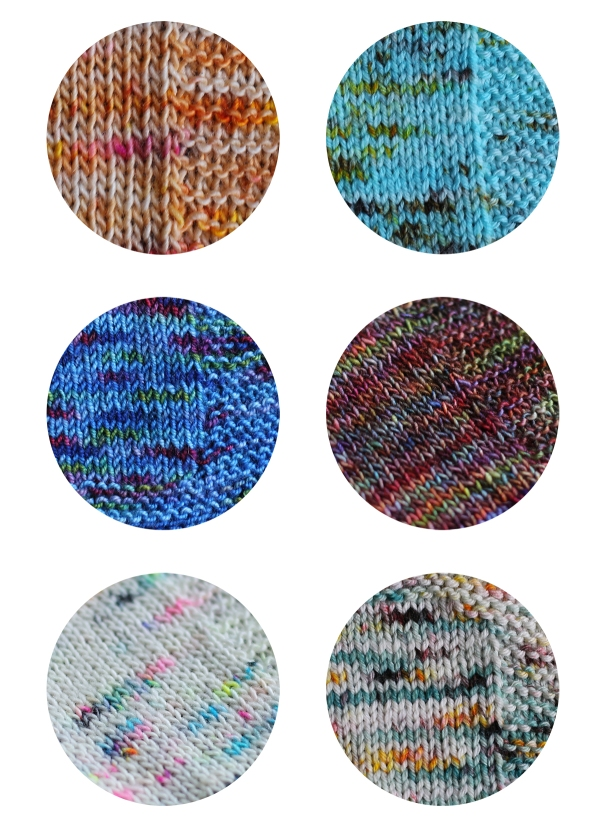 Speckled Yarns