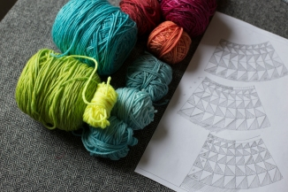 Designing the yoke and choosing colours