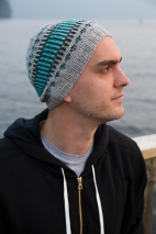 The modern geometric pattern of the Clayoquot The Clayoquot Toque will make it an instant hit with the whole family.