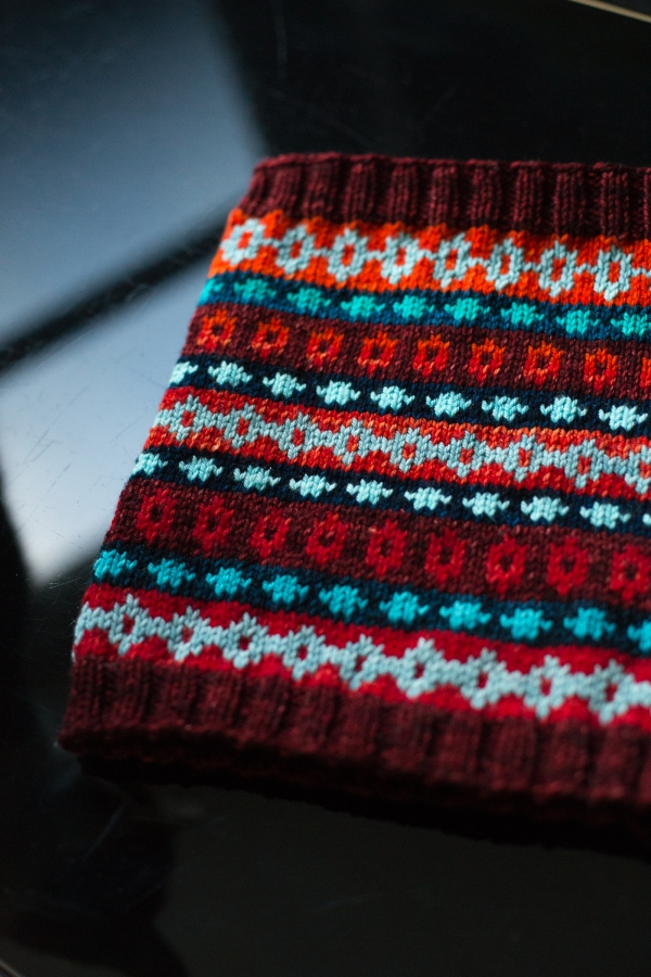 Fair Isle Friday: Swatch Cowl | Tin Can Knits
