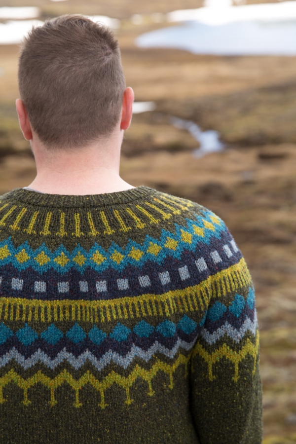 Marshland Sweater (link to pattern for sale)