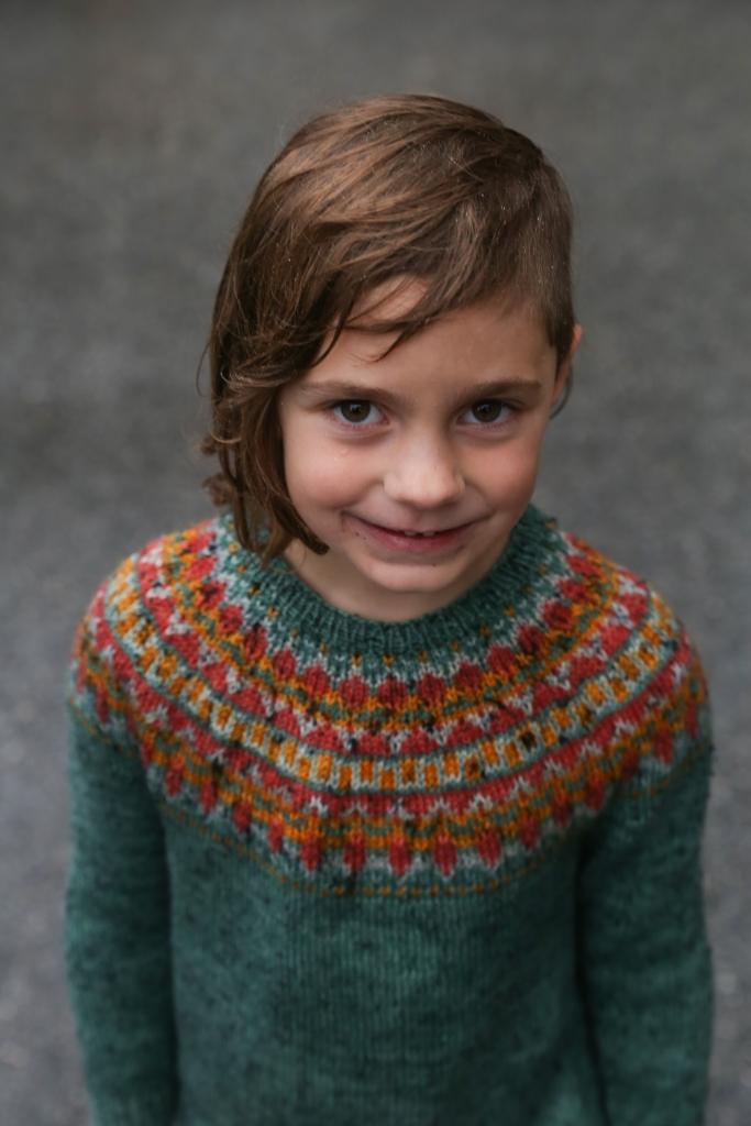 Trek Colourwork Sweater Pattern
