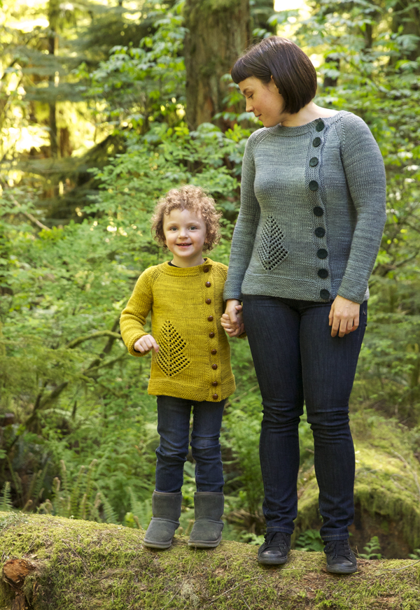 Old Growth Cardigan Pattern