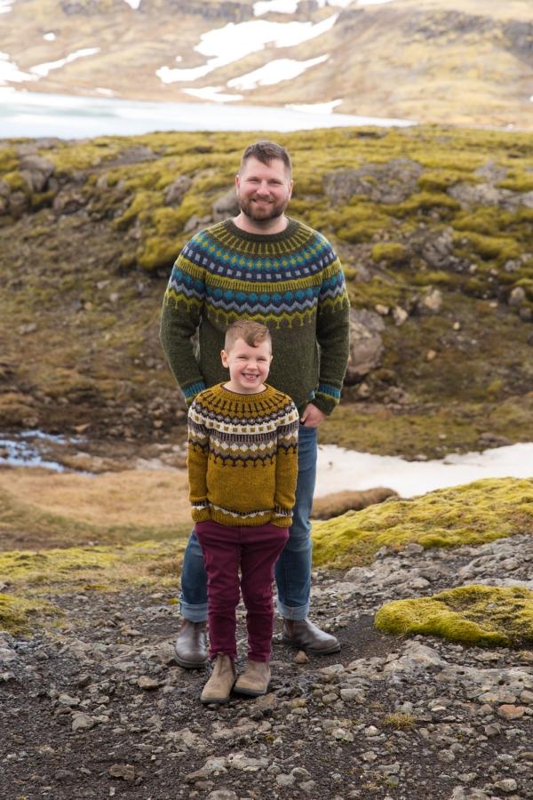 Marshland sweater pattern