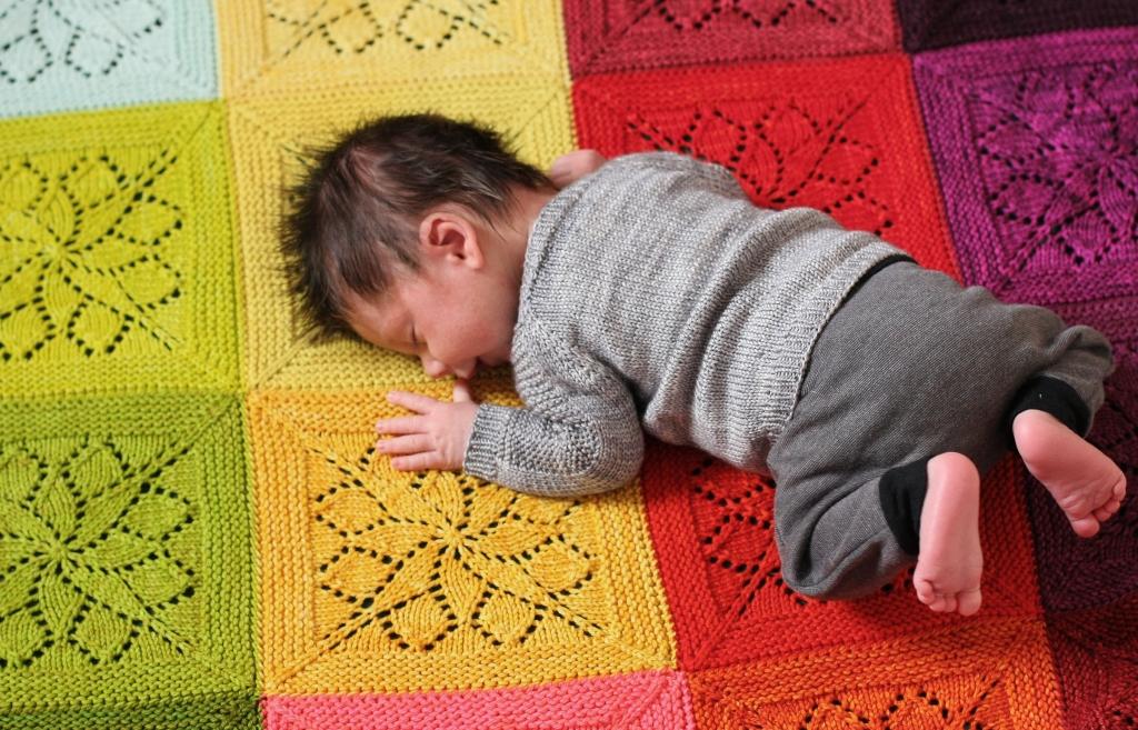 Vivid Blanket Pattern