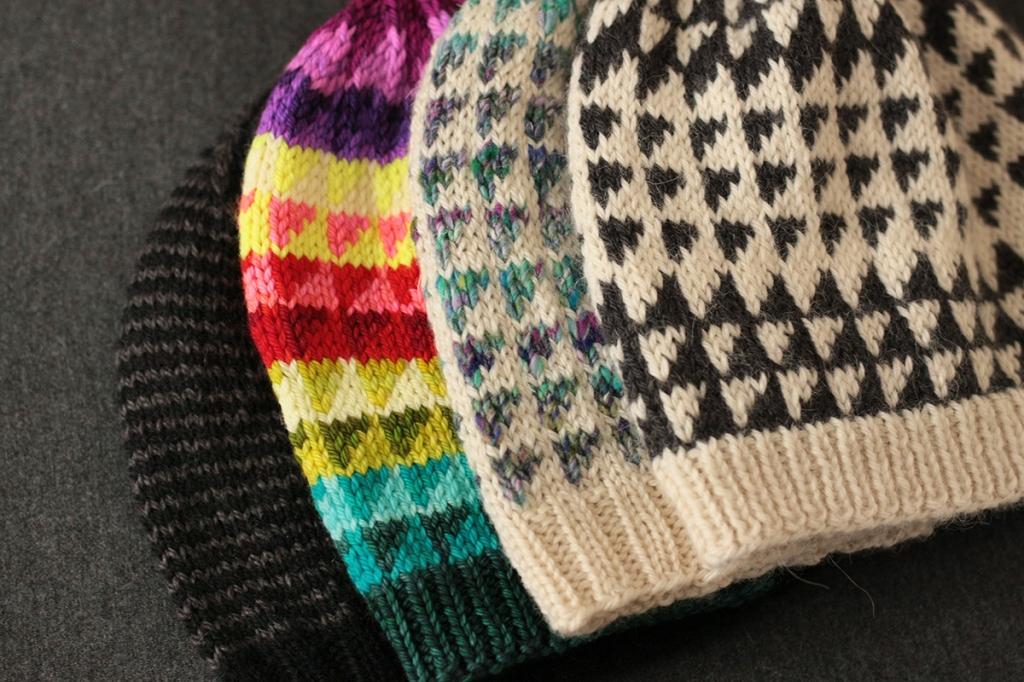 Prism hat pattern