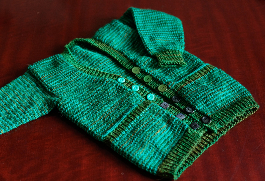 Striped Playdate Cardigan blog post