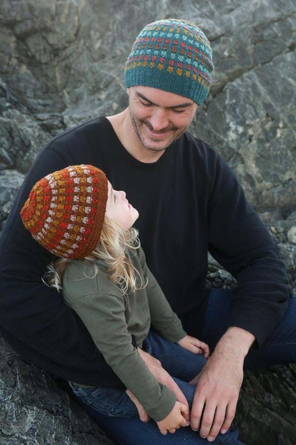 Embers hat pattern