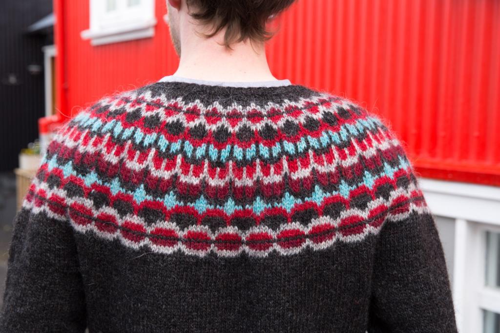 Almanac sweater pattern