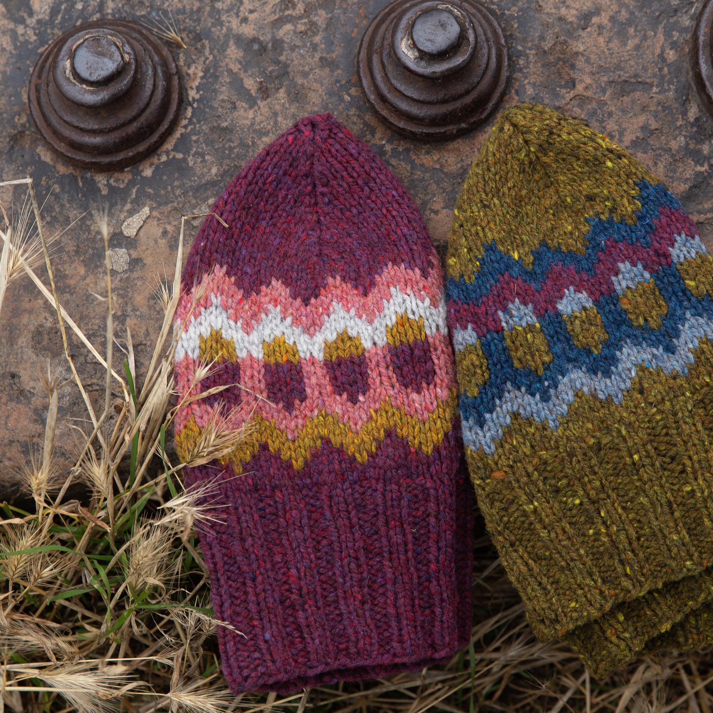 Rockfall hat pattern.